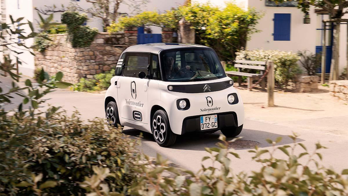 Citroën My Ami Cargo 2021: un eléctrico urbano para profesionales