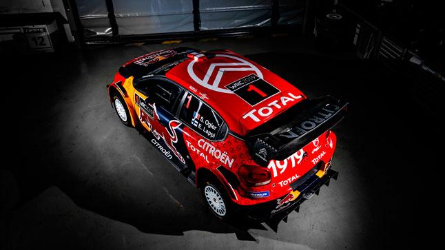 Citroën celebra su centenario con una decoración especial para el WRC