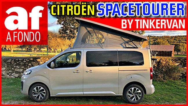 Vídeo: prueba y review al completo del Citroën SpaceTourer by Tinkervan