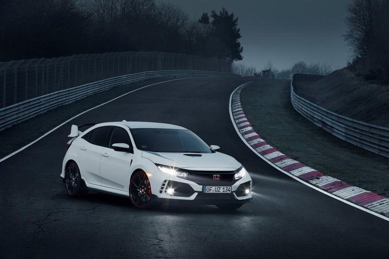 El nuevo Honda Civic Type R, el más rápido de Nürburgring