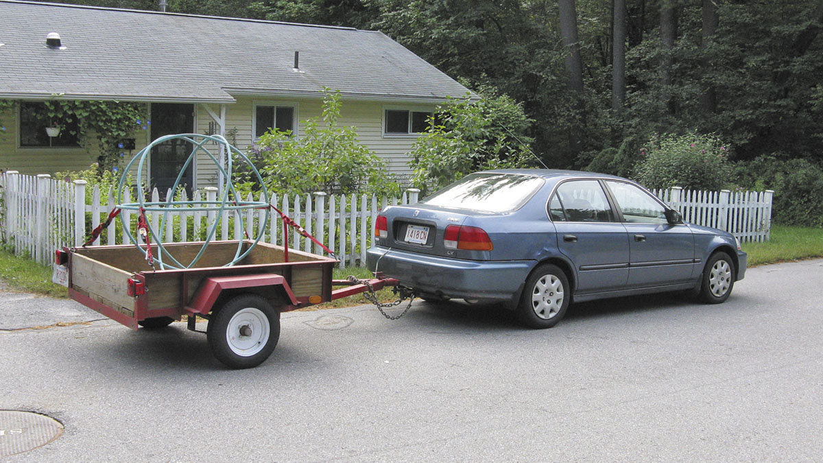 coche con remolque