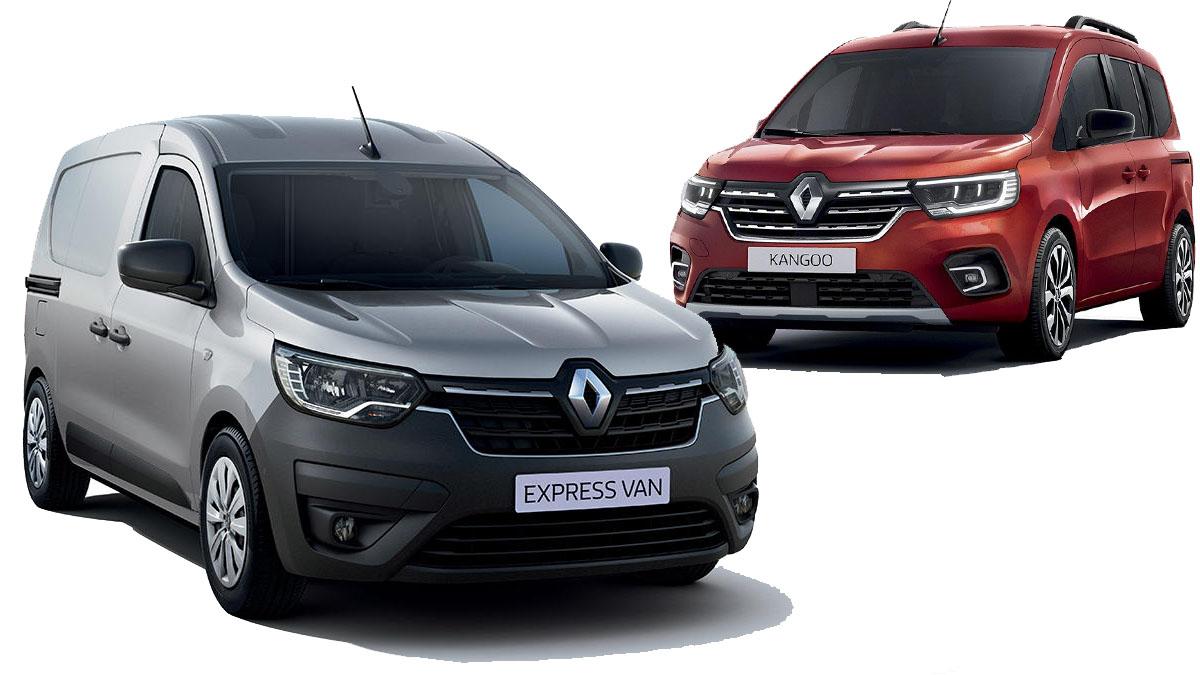 Nuevo Renault Express vs. Renault Kangoo 2021: el gran duelo de comerciales del año