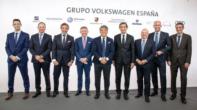 conferencia de prensa volkswagenespana