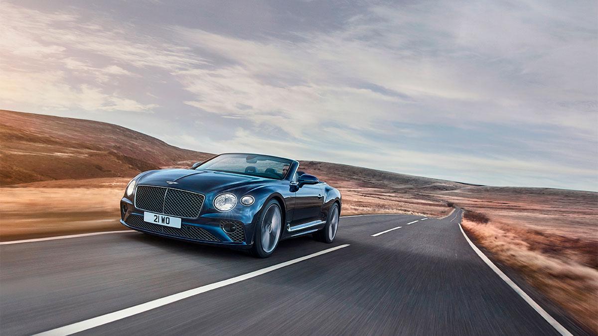 Nuevo Bentley Continental GT Speed Convertible 2021: altas prestaciones y lujo a cielo abierto