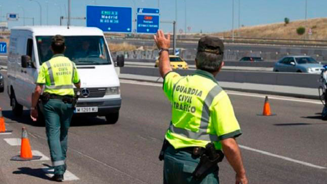 La DGT intensifica la vigilancia a furgonetas esta semana