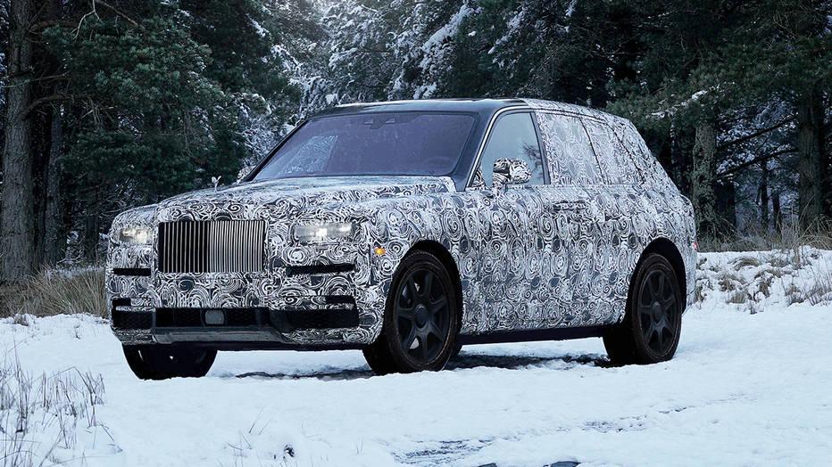 El Rolls-Royce Cullinan tendrá dos asientos extra en el maletero