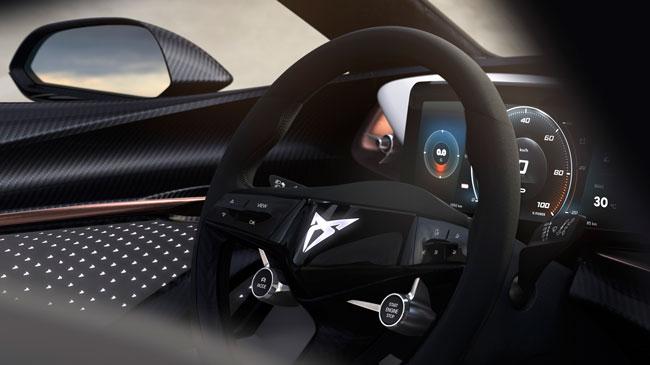 cupra concept interior teaserhq