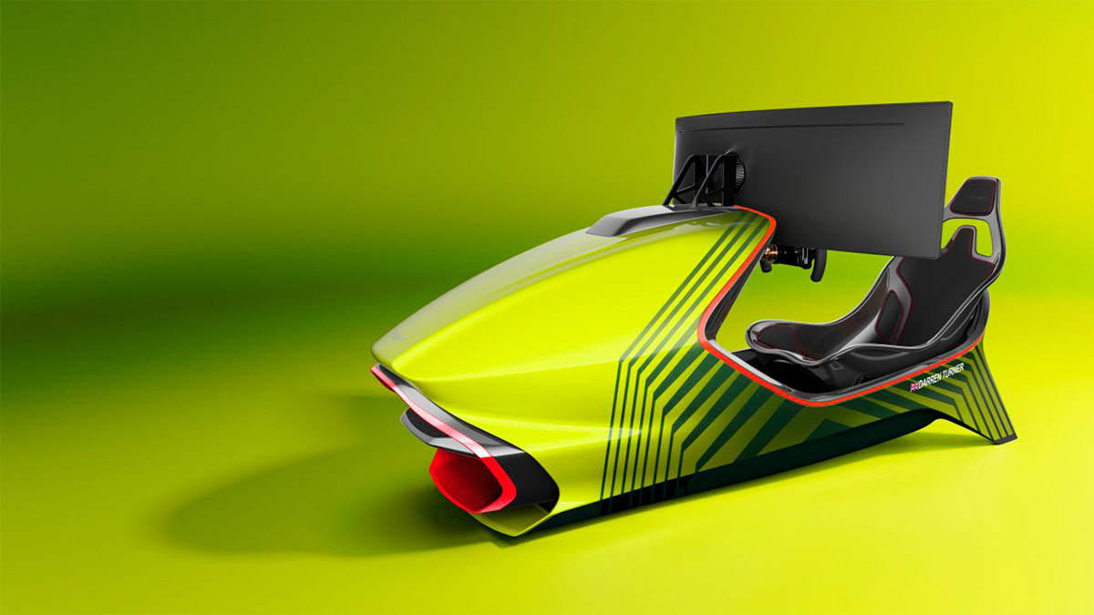 Aston Martin presenta un simulador de carreras de más de 62.000 euros