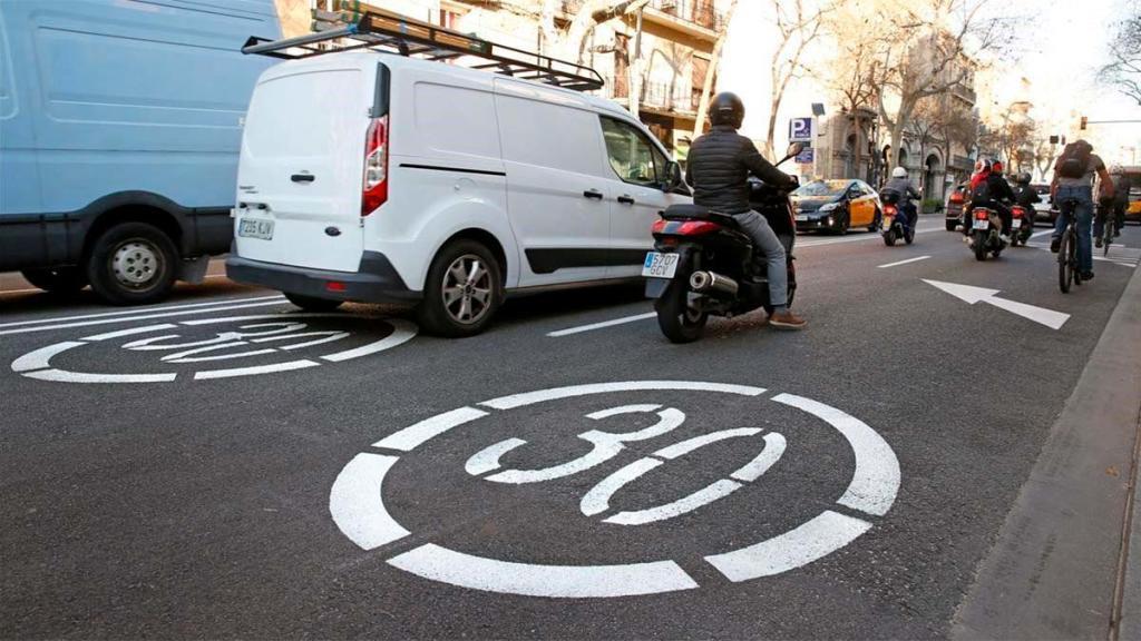 Los nuevos limites de velocidad en ciudad que entran en vigor en mayo