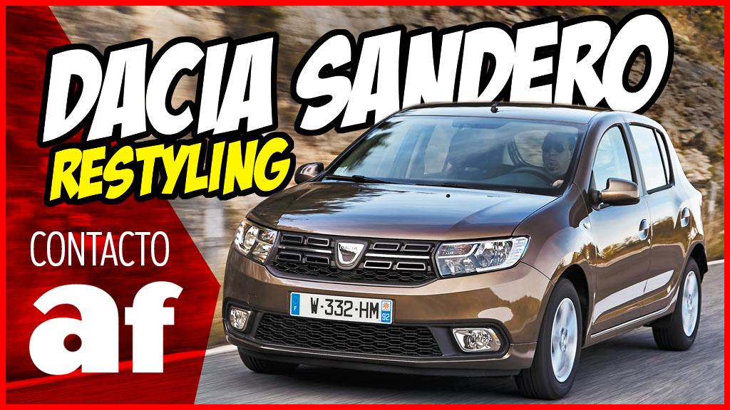 Así es el restyling del Dacia Sandero para 2017