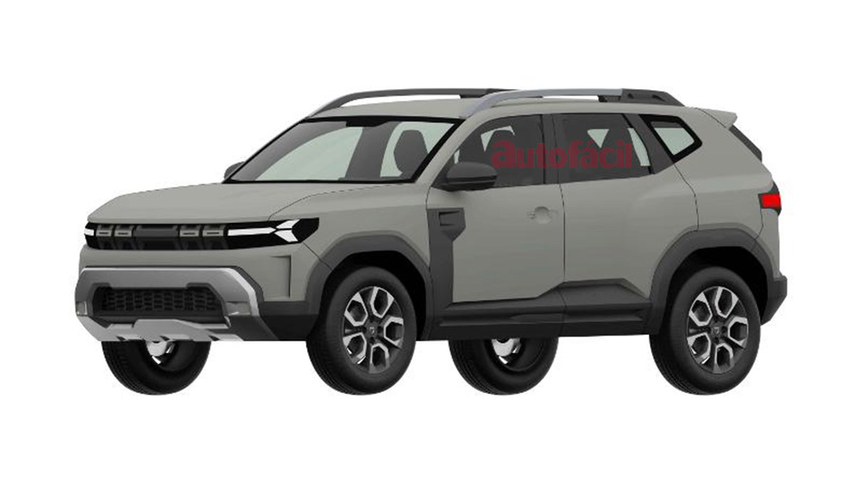 ¡Exclusiva! ¿El Dacia Bigster/Duster 3 filtrado? ¡Así podría ser la revolución SUV low cost!