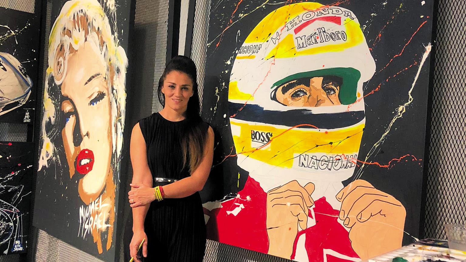Daniela Montesano: Explosión de colores y talento