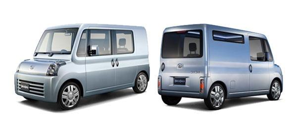 Daihatsu Deca Deca Concept, sencillo y versátil