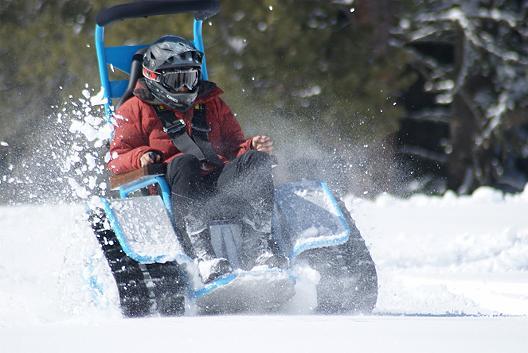Der Zieisel: así va esta 'silla de ruedas' off-road