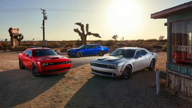 Dodge Challenger SRT Hellcat 2019, ¡ahora con 808 CV!