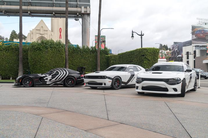 La policía de Los Ángeles 'viste' sus coches a lo Star Wars