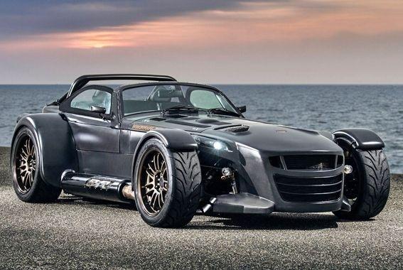 Donkervoort D8 GTO Bare Naked Carbon: el arte de emplear la fibra de carbono