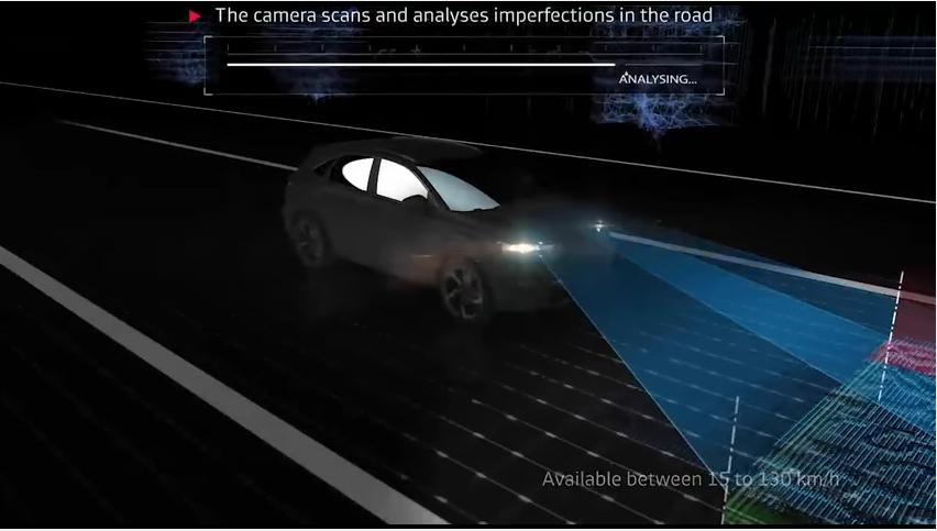 DS 7 Crossback: descubre su tecnología Active Scan Suspension