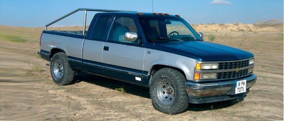 Chevrolet Silverado 6.2 V8 (1992) «Un carguero americano muy duro»