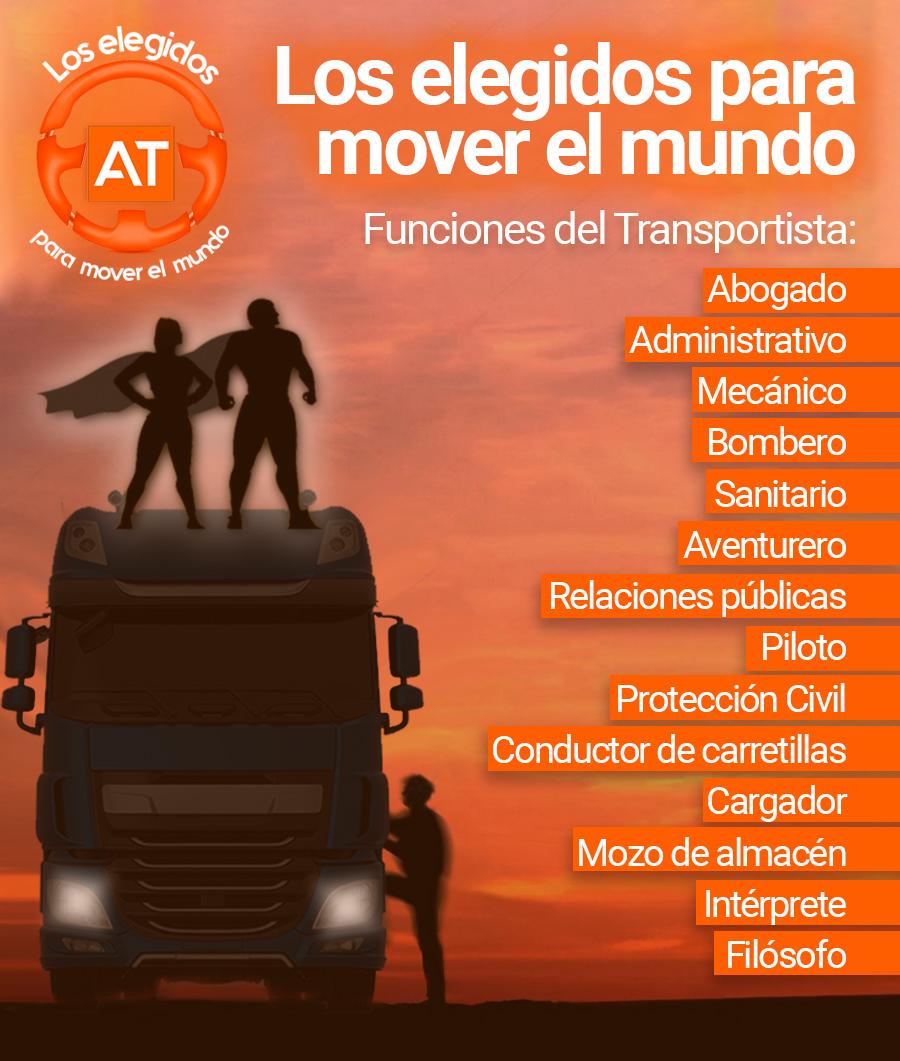 Conductor de camión versus superhéroe