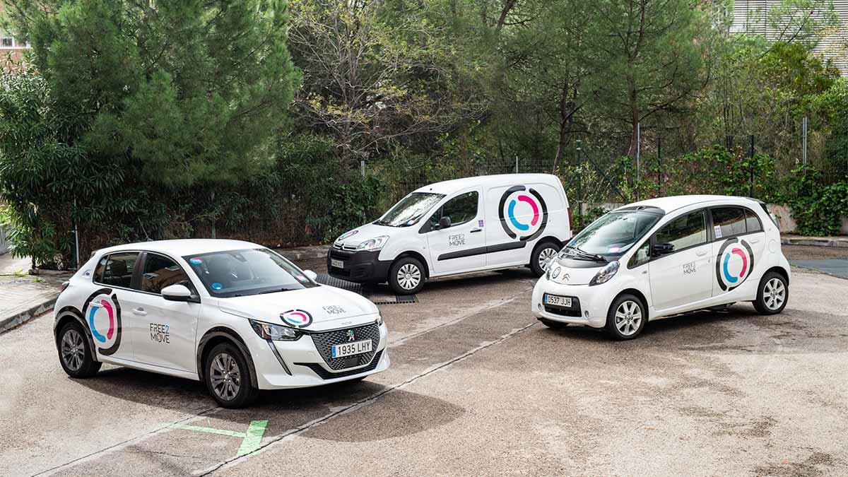 El servicio de carsharing Emov pasa a formar parte de la plataforma de movilidad Free2Move de PSA