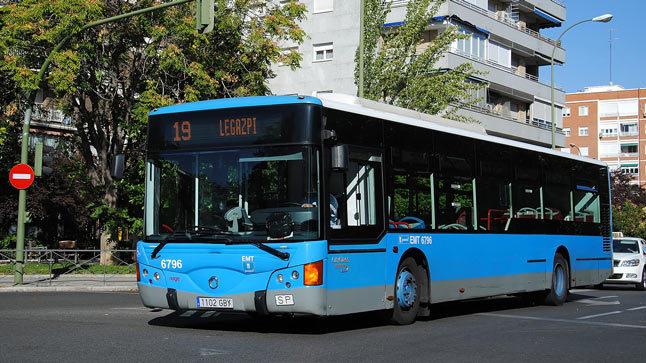 EMT Madrid cambia las paradas de algunas líneas de bus por obras