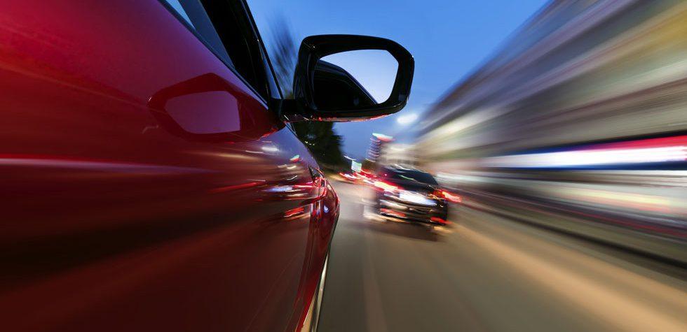 exceso de velocidad