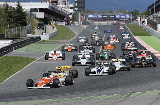 Espíritu Montjuic 2015: GP Banco Madrid de F1 Histórica en Montmeló