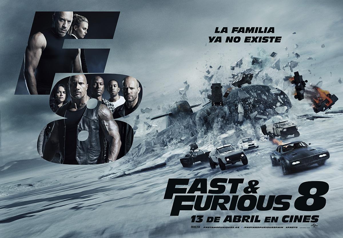 Consigue una entrada doble para ver Fast & Furious 8