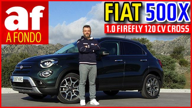 Vídeo: prueba del Fiat 500X Cross 1.0 120 CV Firefly