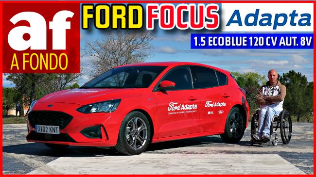 Vídeo: review y prueba del Ford Focus Adapta 1.5 EcoBlue 120 CV