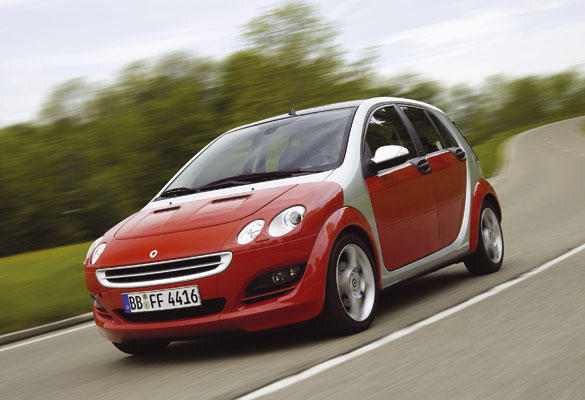 Smart ForFour 1.5 CDI (2004-2006)