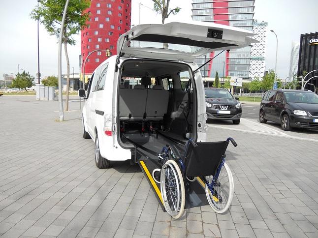 foto coche electrico adaptado para pmr