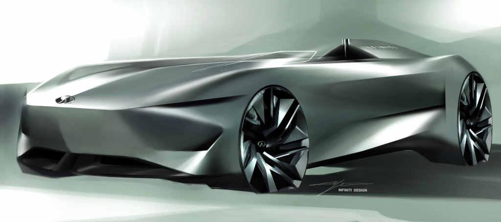 Prototype 10, el nuevo concept car electrificado de Infiniti