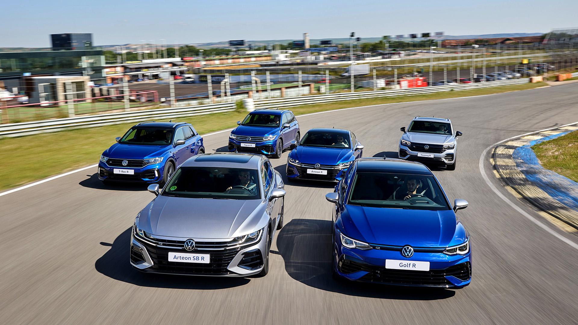 Nuevos Volkswagen R 2021: una familia muy dinámica