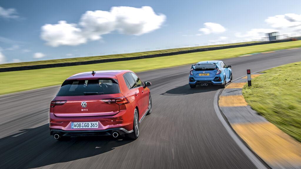 Volkswagen Golf vs. Honda Civic Type R