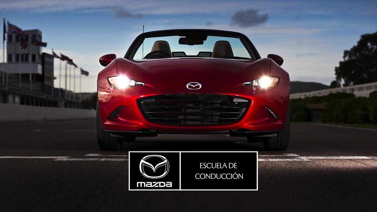 Autofácil regala 7 cursos dobles de conducción segura y eficiente Mazda TAC en el circuito de Albacete