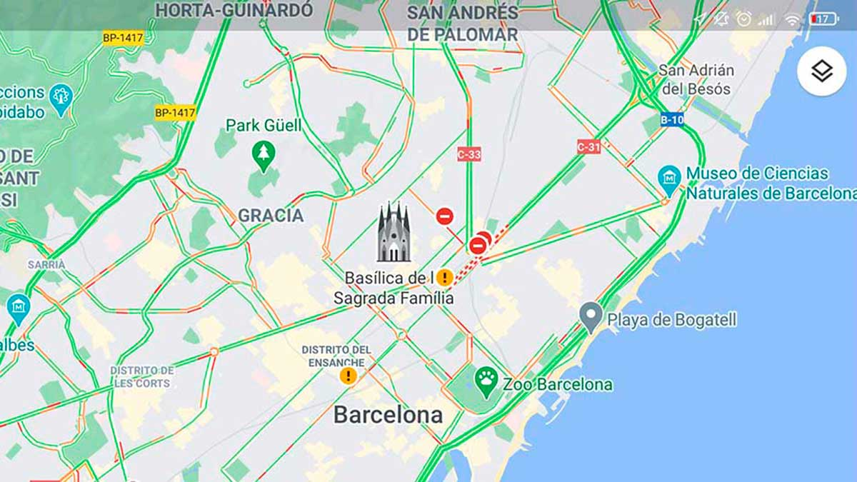 google maps trafico7