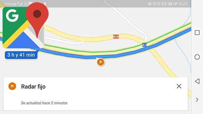 google maps.