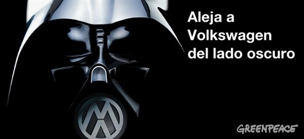 Greenpeace ya alertó del «lado oscuro» de Volkswagen en 2011