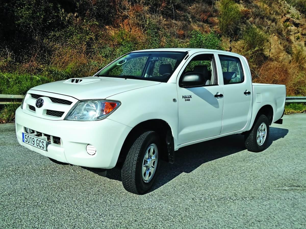 Toyota Hilux 2.5 D-4D: Prueba V.O.