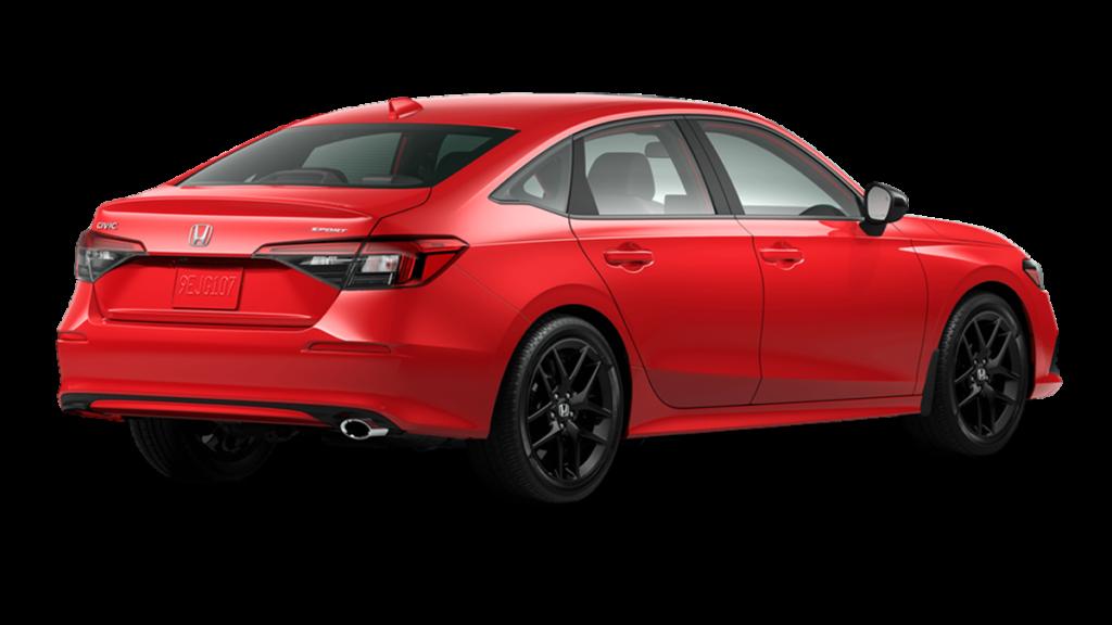 Honda Civic 2022 trasera