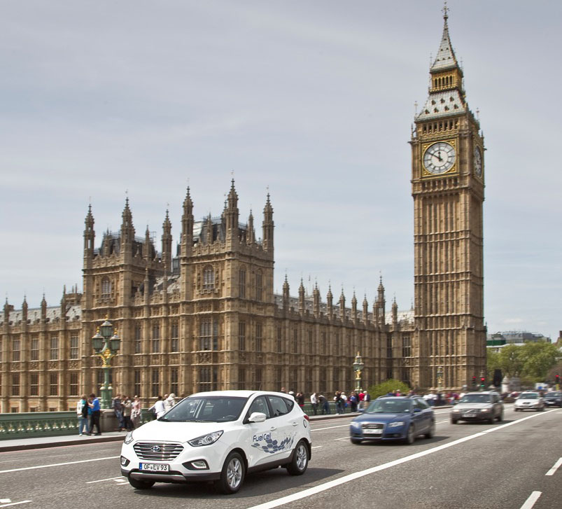 hyundai ix35 fuel cell london