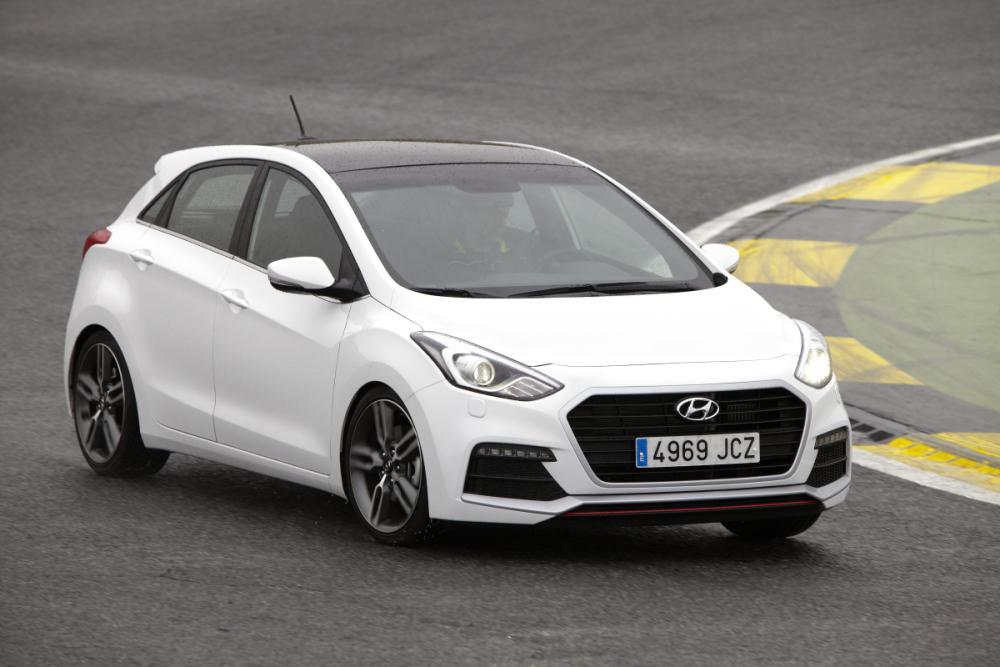 El nuevo Hyundai i30 Turbo en acción