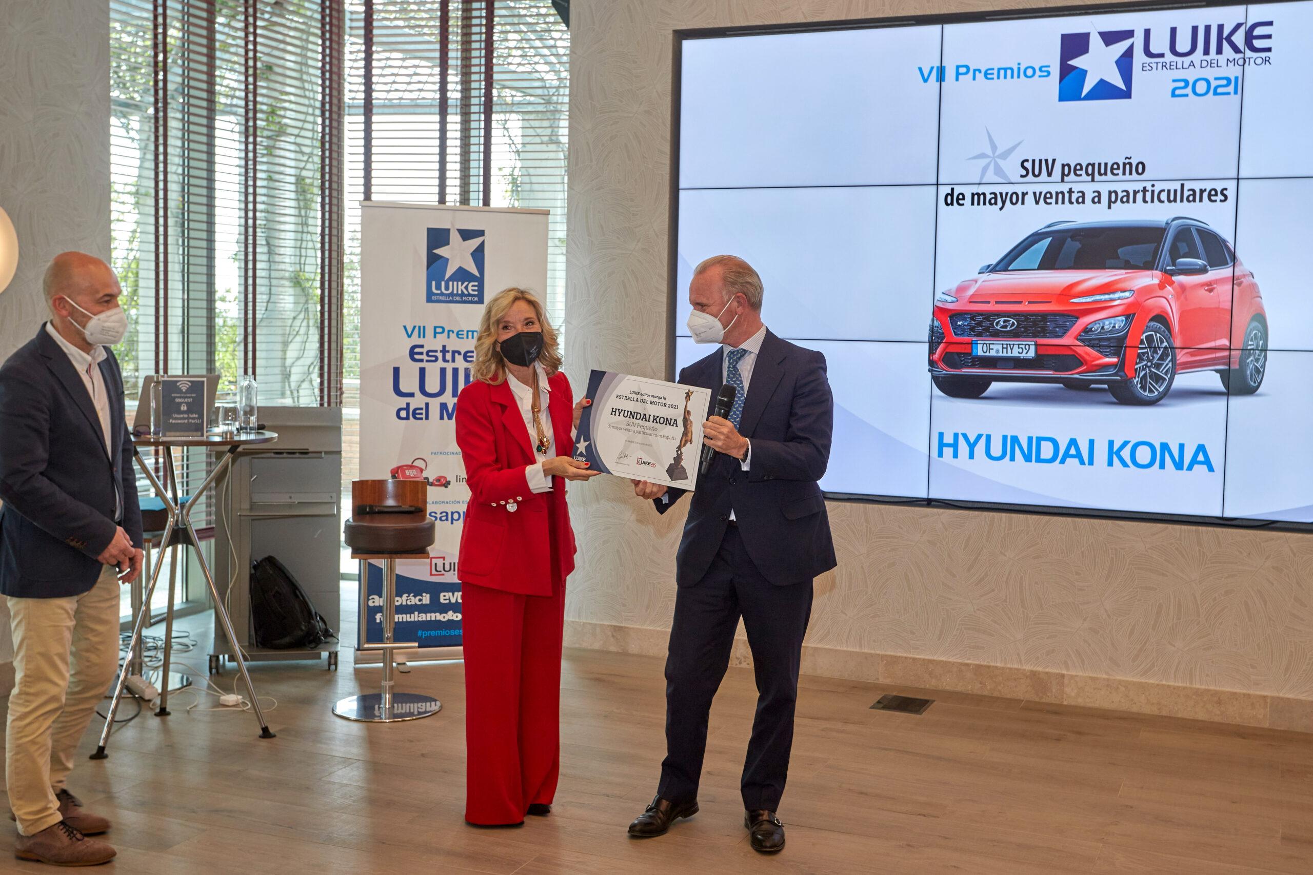El Hyundai Kona, Estrella LUIKE del Motor al SUV Pequeño más vendido a particulares