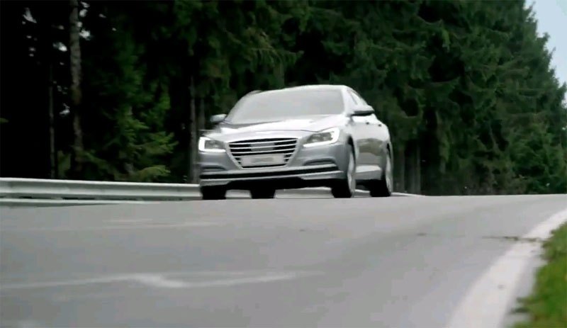 El Hyundai Genesis, probado a fondo en Nürburgring