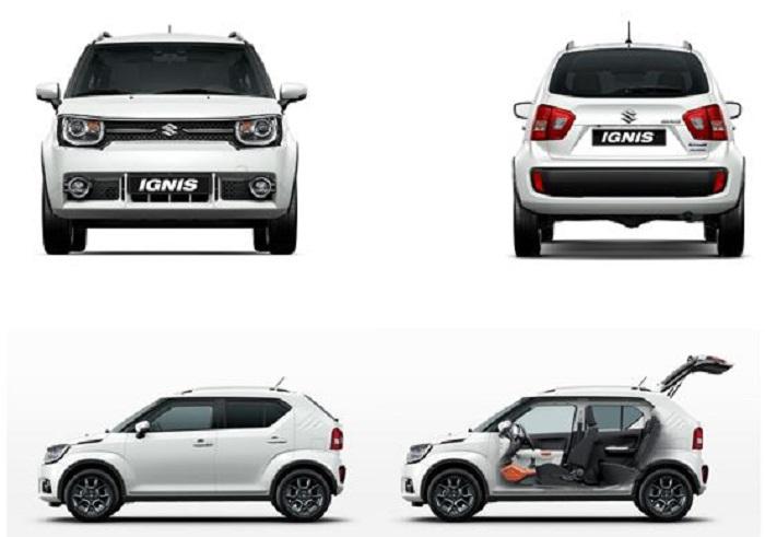 Suzuki Ignis 2017: versátil y compacto