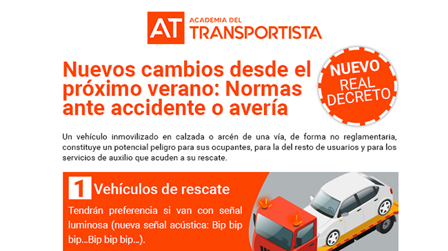 Nuevos cambios DGT desde el próximo verano: Normas más seguras a cumplir en caso de accidente o avería de tu vehículo