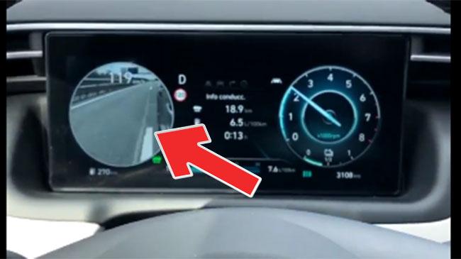 El nuevo Hyundai Tucson 2021 y su inventazo: retrovisores más Blind Spot View Monitor