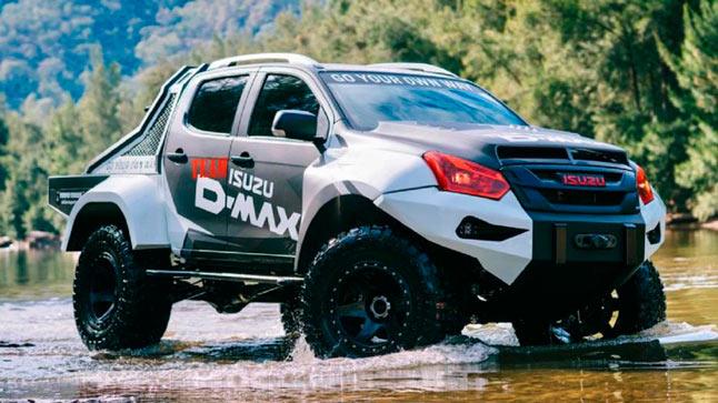 Isuzu Concept X D-Max, pick up salvaje